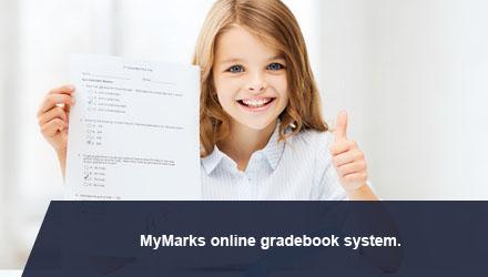 MyMarks online gradebook system